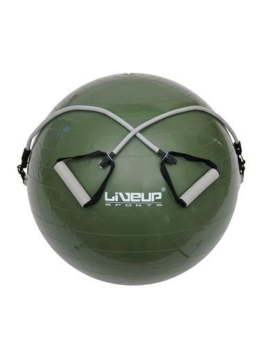 Liveup Liveup LS3227 65 Cm Lastikli Pilates Topu Yeşil